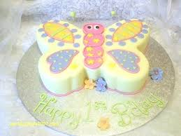 Butterfly Cake Template Printable Birthday Flowers And Butterflies B