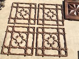 Decorative Metal Grates French Decorative Metal Grates 5 Available Heather Cook Antiques