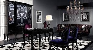 armani black office desk black office desk