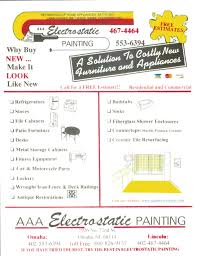 aaa electrostatic painting flyers item 2