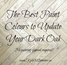 paint colors that go with oak trimThe Best Paint Colours To Go With Oak or Wood  Trim Floor