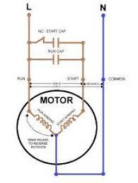 motor start run capacitor wiring diagram images wiring diagram single phase cap start cap run motors