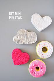 DIY Mini Piatas! Card-stock Paper - Hot glue & Glue Sticks - Scissors