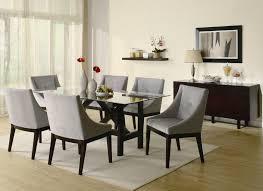 contemporary glass top dining room sets. Coaster Alvarado Rectangular Dining Table With Glass Top In Cappuccino Finish Contemporary Room Sets