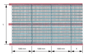 Grating Size Chart Floor Grating Planning And Design Weland Ab