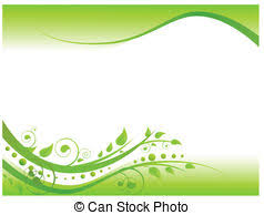 Green Floral Border Design 1 Green Floral Border Design Vector