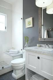 half bathroom ideas gray. Modren Gray Gray And White Bathroom Ideas Grey About Small Bathrooms  On Half Throughout Half Bathroom Ideas Gray
