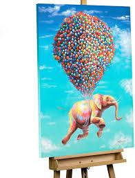 Kunstloft Acryl Gemälde Fliegengewicht 70x100cm Original