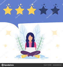 Positive Graphic Design Vector Illustration Positive Good Online Review Product