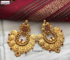 Wedding Earrings Design 21 Best Wedding Earring Designs For Brides South India Jewels