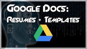 Free Google Doc Resume Templates Best of Tutorial How To Create A Resume Using Google Docs Templates
