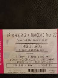 U2 T Mobile Arena For Sale In Nv Us Offerup