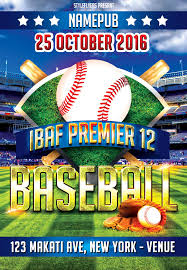 Free Baseball Flyer Template Sport Party Psd Flyer Template By Styleflyers Com This