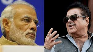 Shatrughan Sinha took a rather stinging swipe at PM Narendra Modi