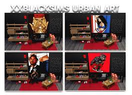 xxblacksims urban wall art hope you all like it 63 swatches  on urban wall art sims 4 with xxblacksims urban wall art hope you all like it 63 swatches