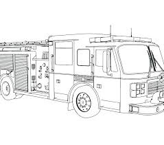 free printable construction truck coloring pages for fire