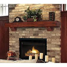pearl mantels shenandoah traditional fireplace mantel shelf hayneedle