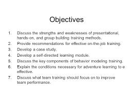 On Job Training Objectives On The Job Training Program Objectives Archives Hashtag Bg