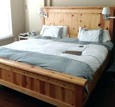 lighted pallet platform bed light wood bed frame bedroom brown wooden with grey lights pallet led fr the best pallet bed home decorations for living room