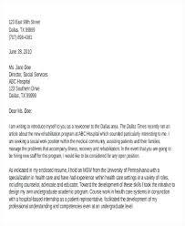 Social Work Sample Cover Letter 7 Sample Social Worker Cover Letter