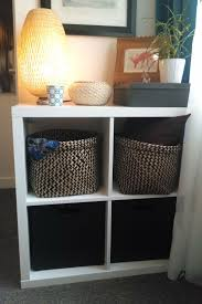 ... Shelving Unit With Baskets Storage Shelf With Baskets Plant Picture  Lamp Basket: extraordinary ...