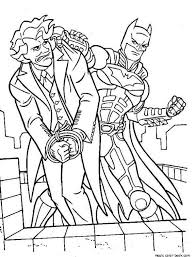 Small Picture Coloring Pages Of Batman And Joker Coloring Pages