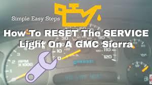 How To Reset Gmc Terrain Oil Light Reset Engine Oil Life Light On 2010 2015 Gmc Terrain