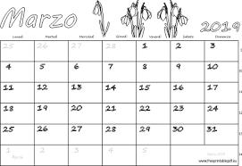 Calendario Marzo 2019 Stampabile Pdf Liberi Di Stampa