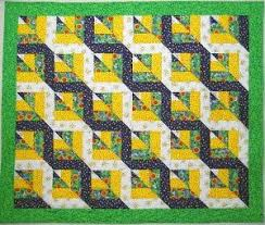 Twisted Rail Fence Quilt Blocks   Rail fence quilt, Rail fence and ... & Patchwork · Free Tutorial: Twisted Rail Fence ... Adamdwight.com