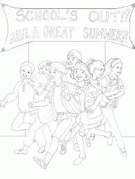 Small Picture Last Day Of School Coloring Pages Coloring Home