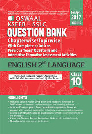 oswaal karnataka sslc sample question paper for class social science oswaal kseeb sslc question bank complete solution interactive formative assessment activities for class10 english iind language