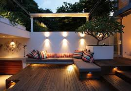 Small Backyard Design Ideas clever lighting is very important for a small backyard