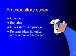 taking the terror out of testing writing camp ppt  an expository essay give facts explains gives steps in a process