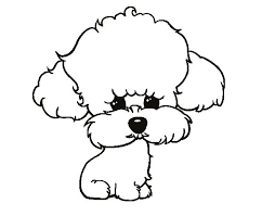 Small Picture Puppy poodle coloring page Coloringcrewcom