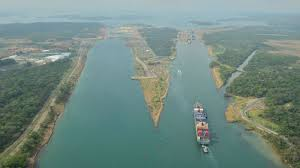 expanded canal marks transits