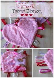diy gifts for babies heart taggie blanket best diy gift ideas for baby boys