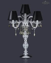 full size of furniture wonderful crystal chandelier table lamp 23 magnificent with chromed base and 4