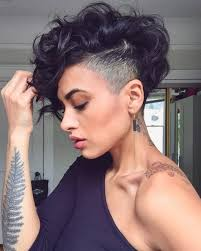 Pixie Cut With Undercut Design 28 Bold Shaved Hairstyles For Women Shaved Hair Designs