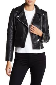 image of w118 by walter baker liz lamb leather jacket