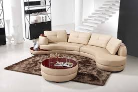Fabric Circular Sectional Sofa Modern Round Sectional Sofa Rounded 1