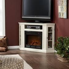 corner gel fireplace tv stand