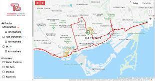 Toronto Waterfront Marathon Elevation Chart 2019 Scotiabank Toronto Waterfront Marathon Interactive Map