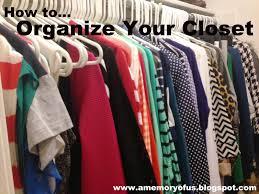 a memory of us how to organize your closet a kansas city fashion blog