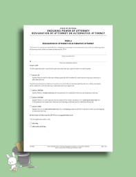 Letter For Power Of Attorney Free 5 Best Power Of Attorney Resignation Letter Examples