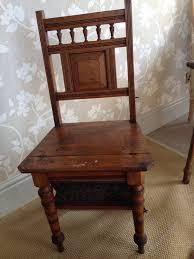 victorian metamorphic folding library chair