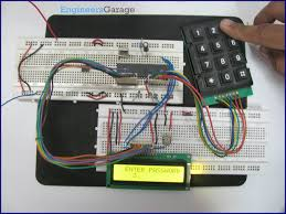 digital code lock project using 8051 microcontroller at89c51 electronic code lock user defined password using 8051 microcontroller at89c51