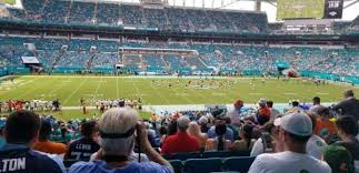 Can Be In The Shade During A Day Game At Hard Rock Stadium