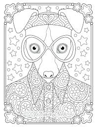 Animal Coloring Book Pages Publications Creative Haven Wild Animal