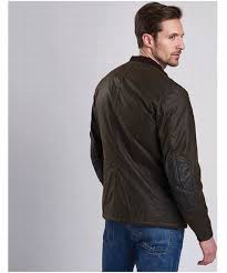 new men s barbour international weir wax jacket olive perfect fit