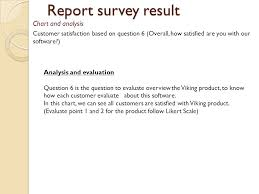 Viking Hierarchy Chart Viking Survey Results Report Team Assignment 11 Team Ppt